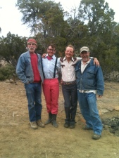 Spence, Billy, Eden and Tony