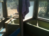 salvaged bath