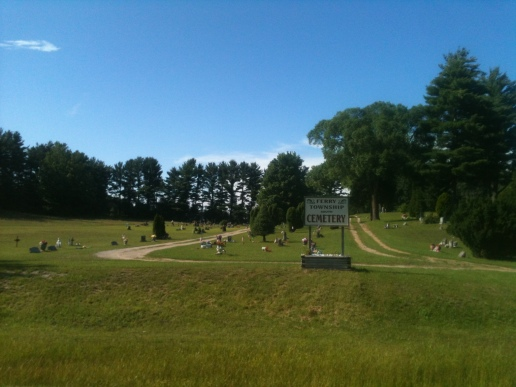Ferry Cemetery near Shelby