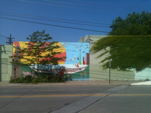 Mural on West 65th Street, Cleveland