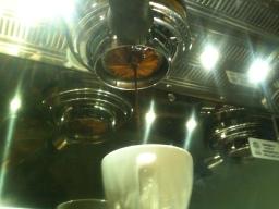 Espresso Shot on La Marzocco, Phoenix Coffee