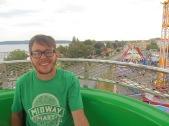 Spence's First Ferris Wheel Ride