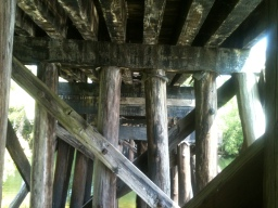 Old Railroad Truss