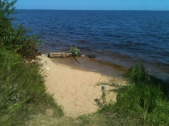 Private Lil' Beach--for now