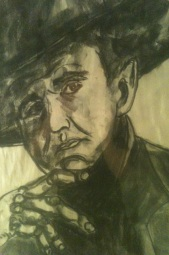 Old Man Drawing by Spence