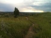 Ridgeline In Between Storms