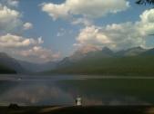 Spence at Bowman Lake