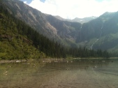Avalanche Lake Before the Tent Soaking Rains