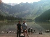 """Straight-Acting"" at Avalanche Lake"