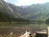 Waterfalls in the Background, Avalanche Lake