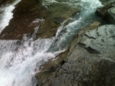 McDonald Creek after Avalanche Creek Merge