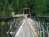 Bridge over Lochsa