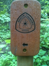 North Country Trail Marker