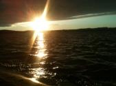 Sunset on Beaver Lake