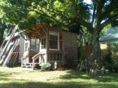 Cabana in Progress