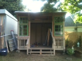 Front of the Shack