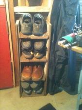 "Homegrown Shoe ""Rack"""