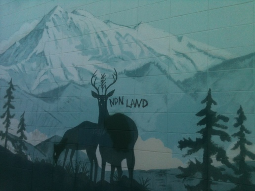 NDN LAND--Mural on 39th and Belmont