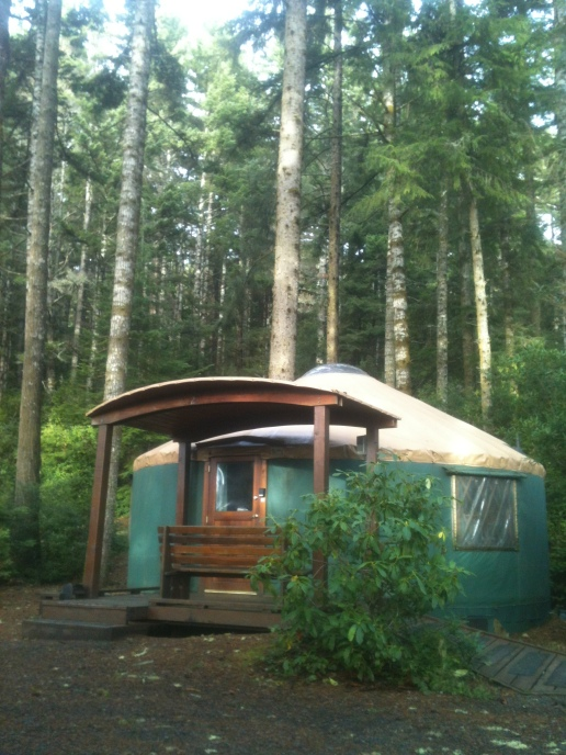 Deluxe Yurt #20 at Umpqua Lighthouse State Park