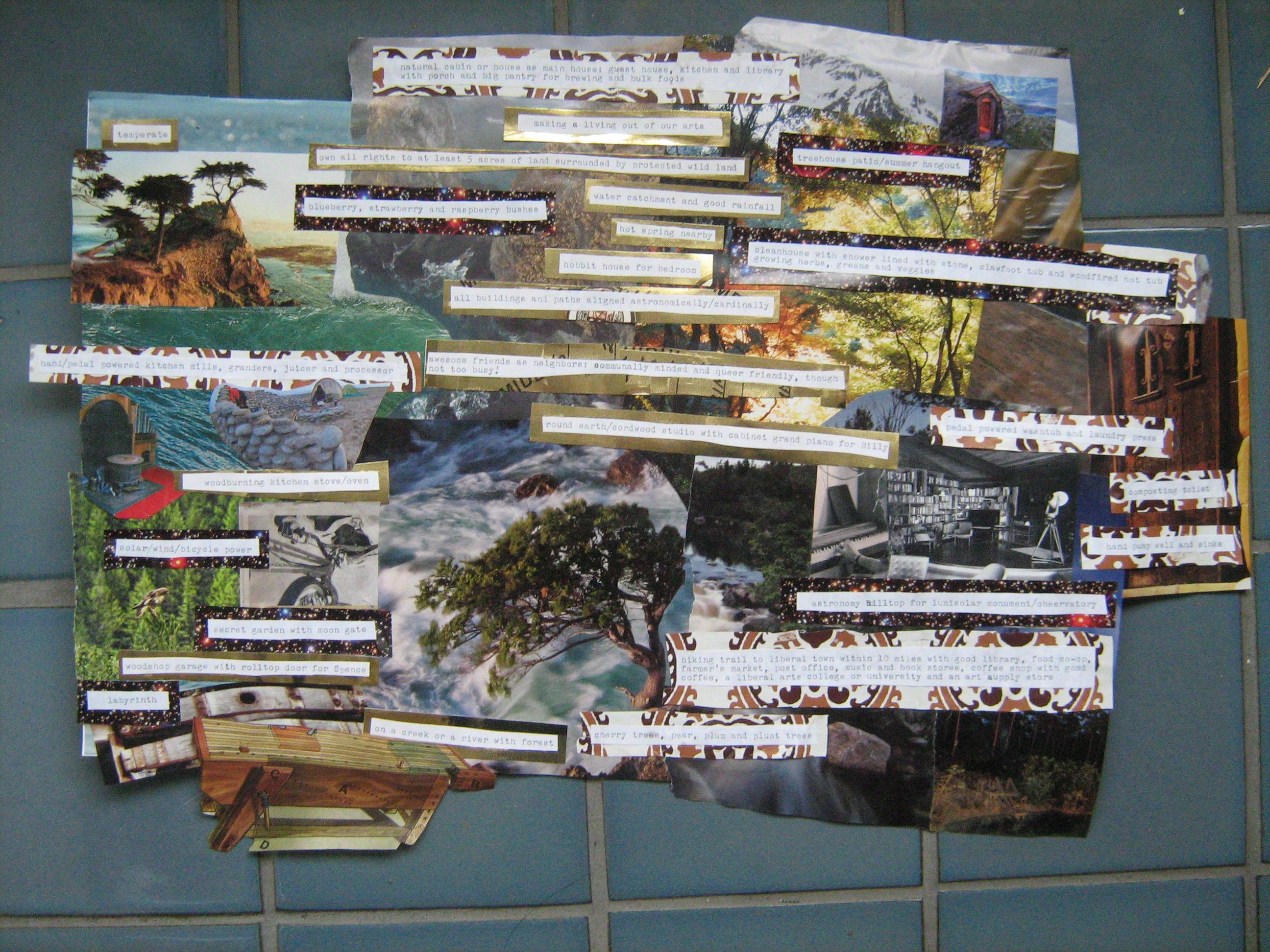 Manifesto Collage by Spencer Fisher and Billy von Raven