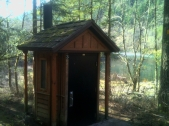 Big Eddy Outhouse