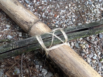 The Very Effective Japanese Square Knot Lashing