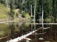 June Lake with Falls