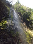 Waterfall Spray Above June Lake