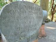 Masonic Knight Templar Ashes