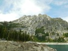 Peaks across Snow Lake