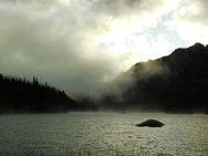 Lower Snow Lake at Dawn
