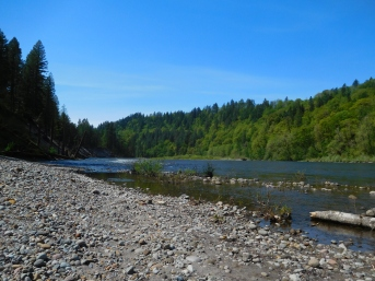 Sandy River--beach two