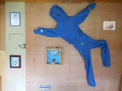 Blueman-suit and shadowbox in the ACME