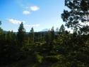 Morning mountain views abound