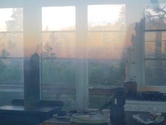 Mountain reflection time