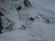 Eliot Glacier on Mt Hood