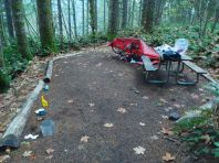 My Brook Creek hiker camp
