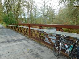 New bridge in Vernonia