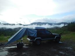 Misty Oregon Camp