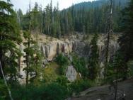 annie creek falls below