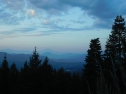 looking across the valley from mt. ashland