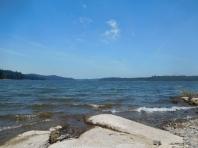 monday afternoon swimming, howard prairie reservoir